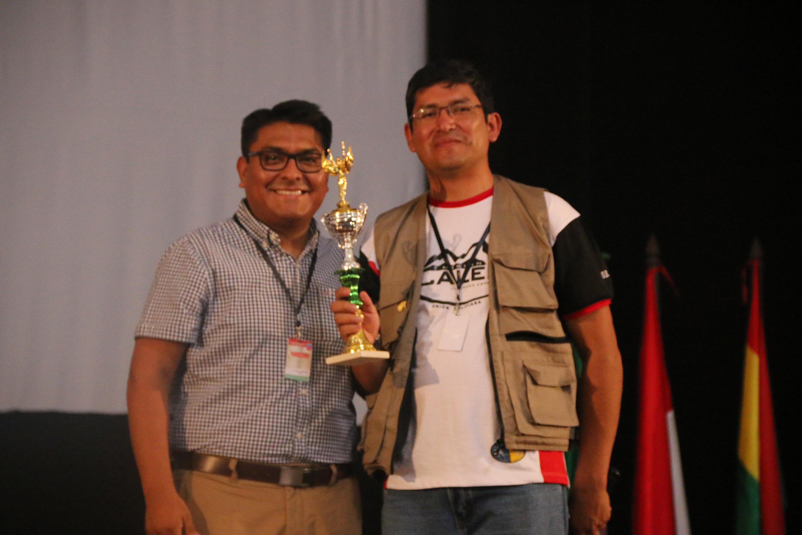 Premiación en deportes del II Congreso Nacional de Universitarios UB