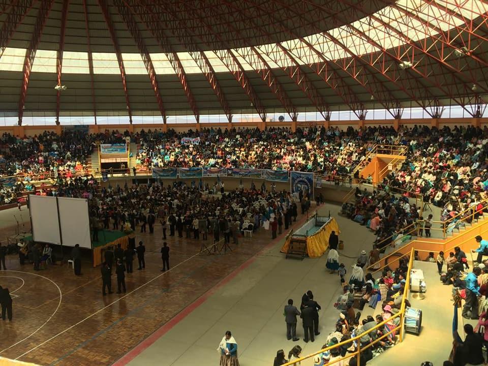 Caravana de Cosecha El Poder de la Esperanza en el departamento de La Paz