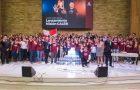 Jóvenes, se comprometen a participar en proyectos sociales y misioneros.