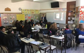 Aula Virtual en escuela adventista Trelew
