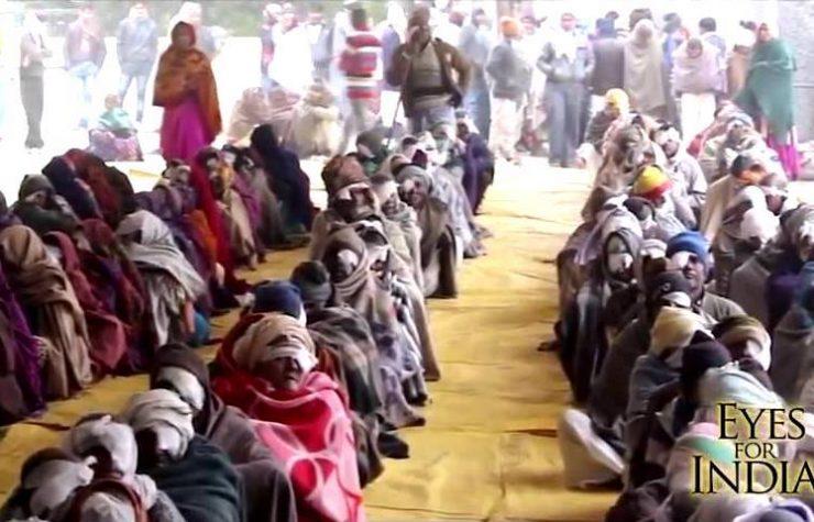Está Escrito realiza más de 1.6 mil cirugías oculares en India