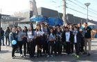 !Estudiantes Adventistas entregan libros de Autoayuda!