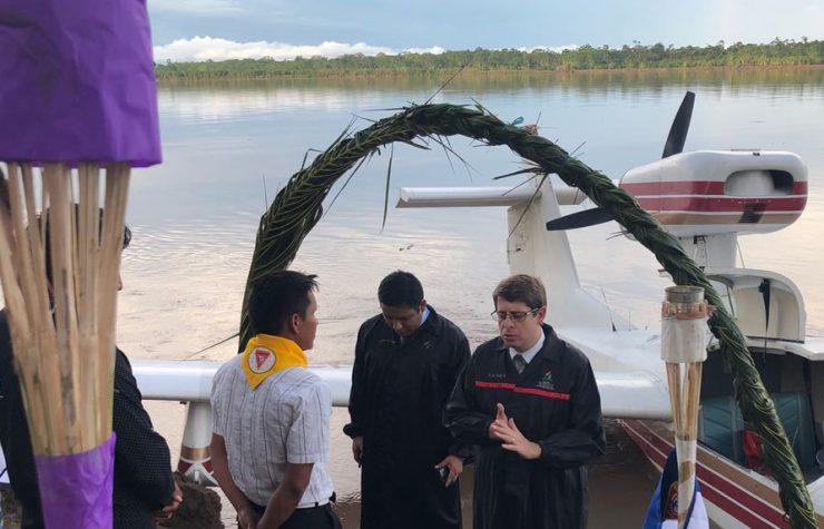 Comunidades nativas del Perú son alcanzadas con ministerio aéreo