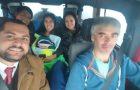 Testimonio refleja milagros en la provincia de Chubut con nieve