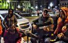 Un centenar de personas en situación de calle recibieron abrigo en la Plaza del Congreso