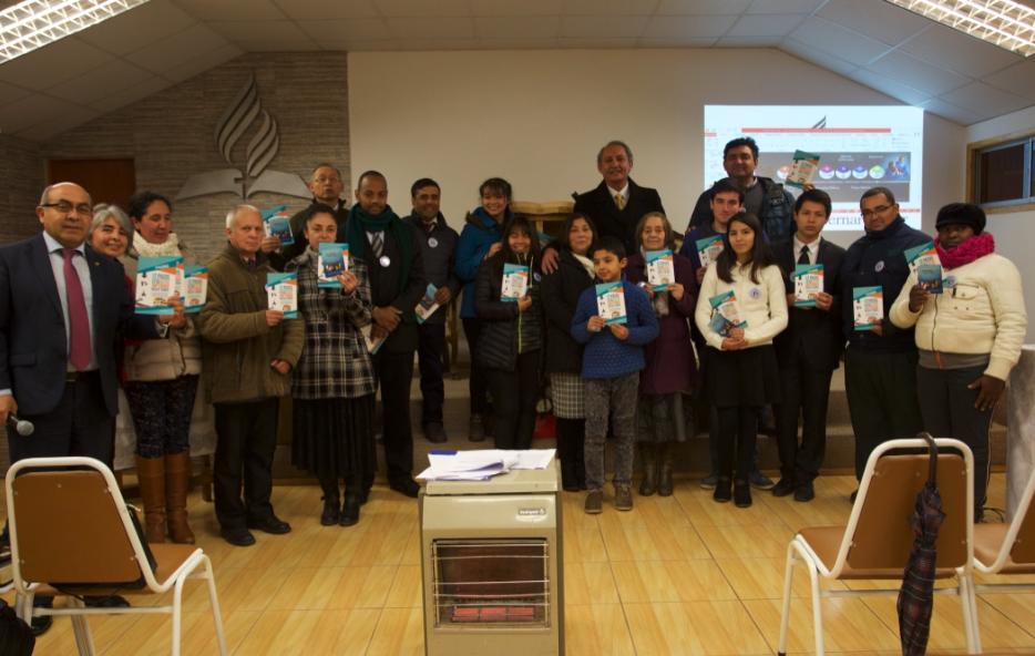 Chile tiene 19 iglesias anfitrionas