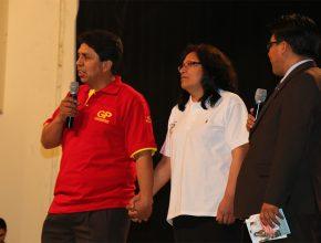 Humberto junto a su esposa Goldy en el I Encuentro de Coordinadores GP
