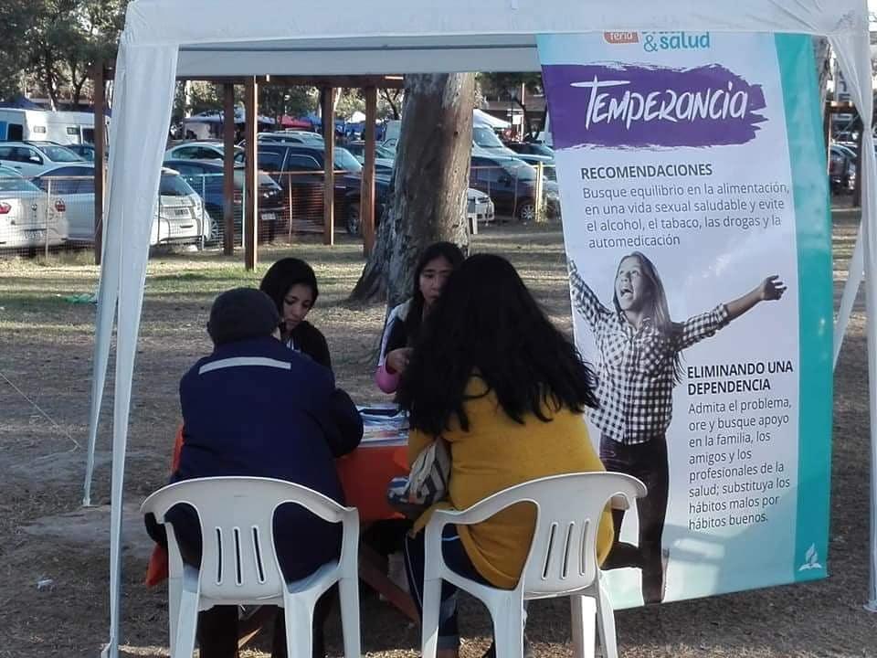 Mas De 200 Personas Visitaron La Feria De Salud En Termas De Rio Hondo  C2 B7