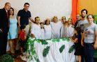 Familia es bautizada gracias al encuentro de renovación de matrimonios
