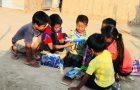 Adventistas comparten amor con niños afectados por desastres naturales