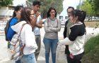 Alumnos y docentes apoyan a familias luego de derrumbe