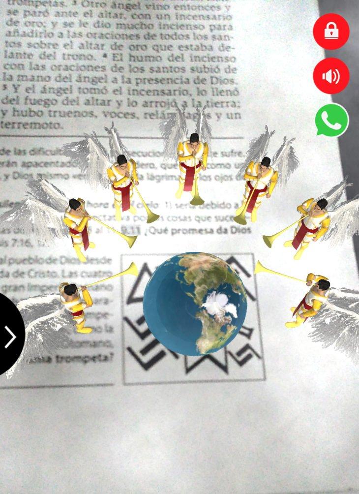 La Biblia misionera permite la visualización de imágenes proféticas  Noticias
