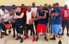 Equipo de básquet evangeliza en la cancha