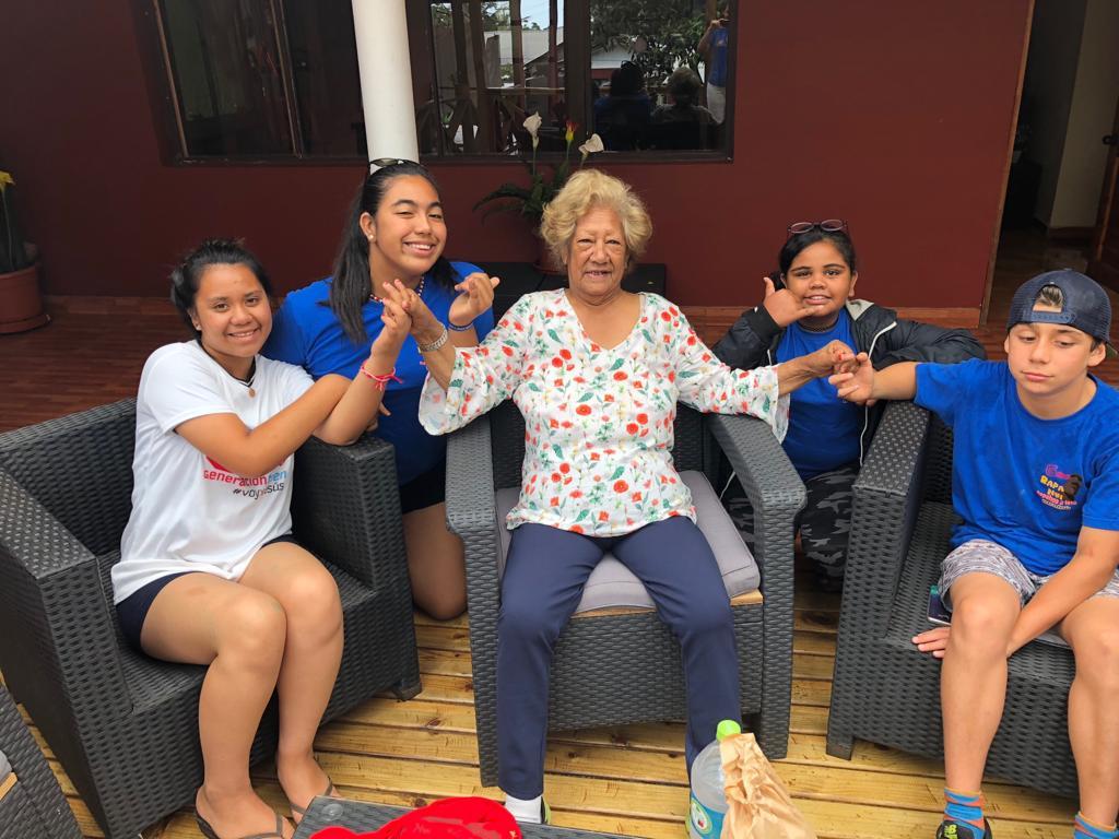 Adolescente de Isla Rapa Nui se bautiza gracias al Proyecto Gteen  Noticias