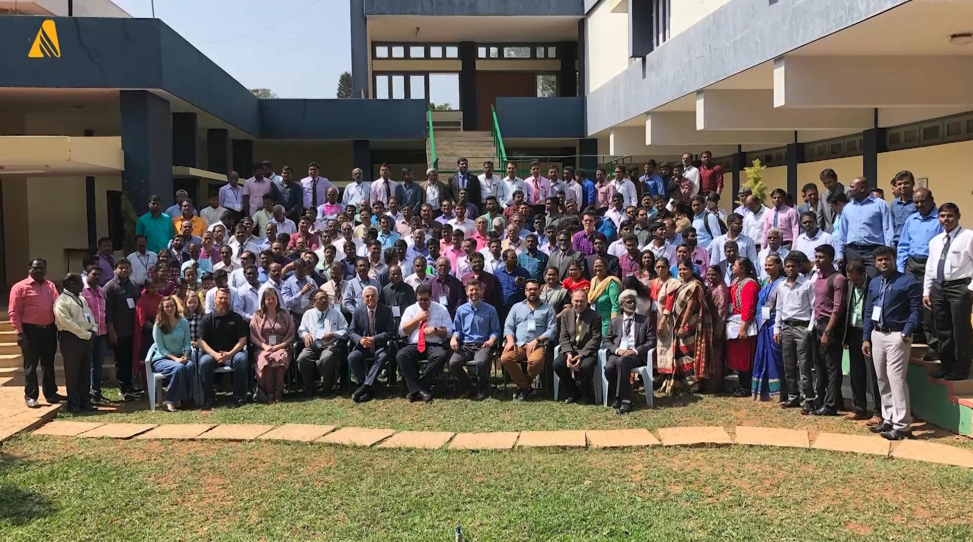 Equipo de indios que participó en entrenamiento en el país (Foto: Adventist News Network)