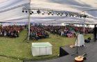 Más de mil personas participan en campamento de Grupos Pequeños