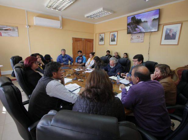 Visita a la junta directiva del municipio de Diego de Almagro