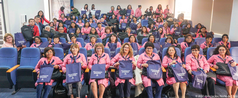 Más de 100 personas de Arica a Vallenar fueron parte del II Congreso de voluntariado Adventista