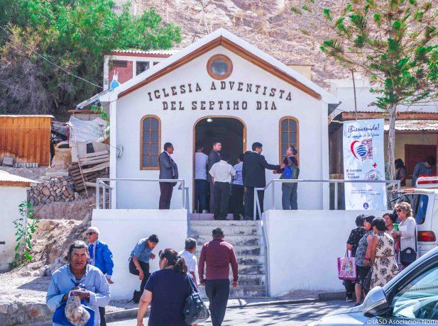 Iglesia Adventista del Séptimo Día en Moquella, Camiña, Iquique, Chile.