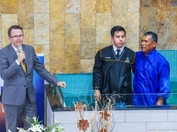 Pr. Herbert Boger Director del Ministerio Personal y ASA de la División Sudamericana junto al Pr. Alejandro Marín Director del Ministerio Personal de la Asociación Norte de Chile.