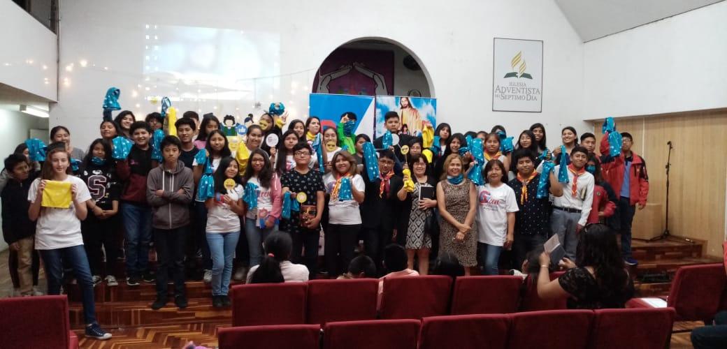 Semana de evangelismo Juvenil con las bases Gteen de la Zona de Arica.