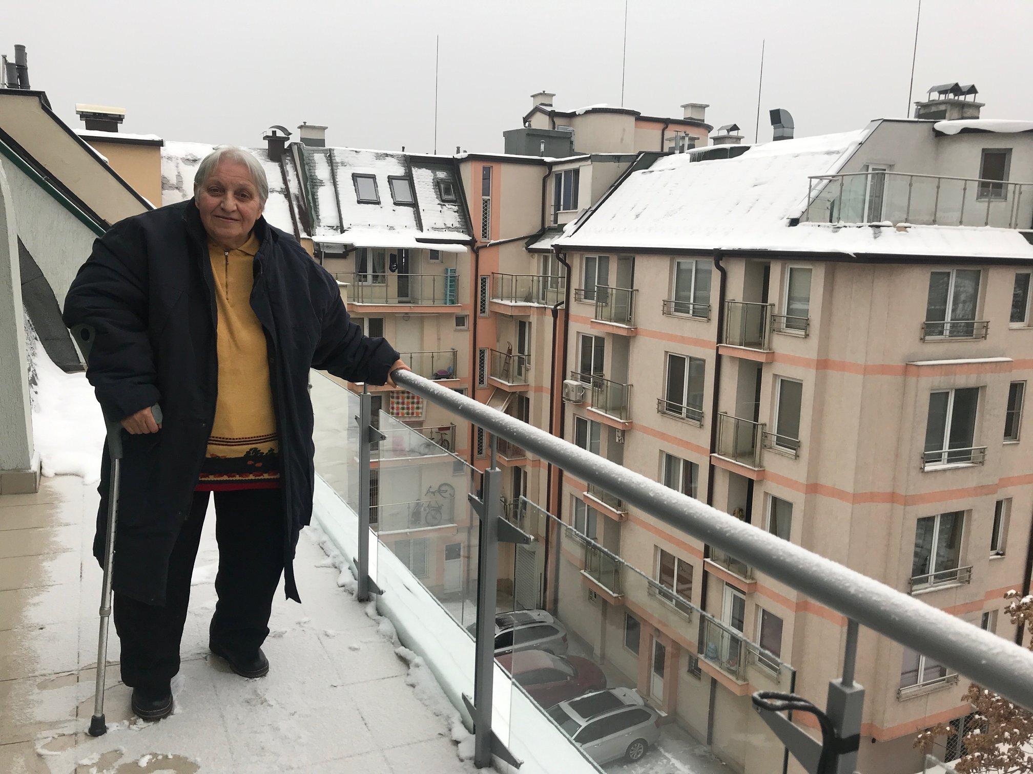 A los 73 años, Maria vive en Bulgaria, un país europeo de cultura antigua (Foto: Andrew McChesney)