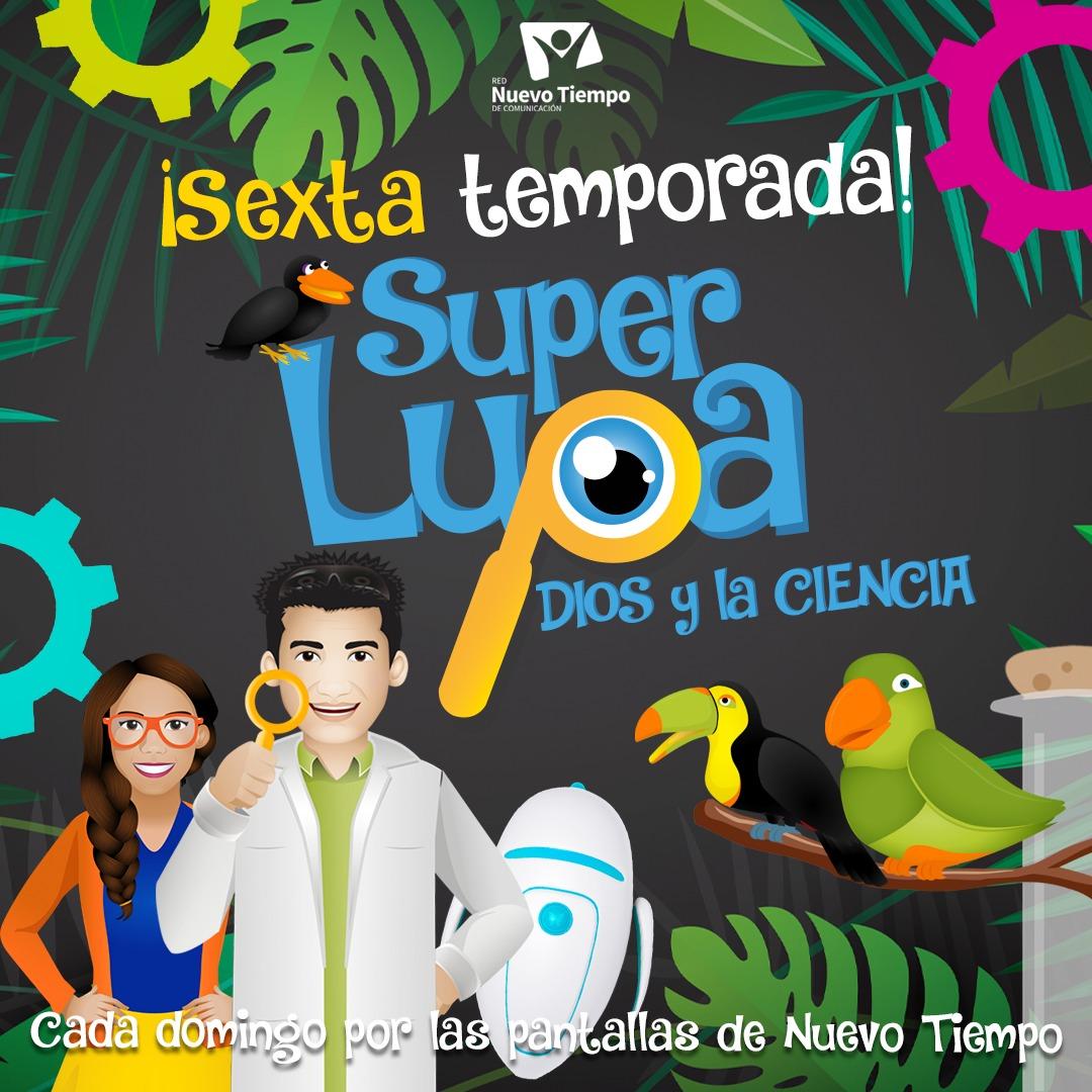 """Nuevo Tiempo lanza sexta temporada de """"Super Lupa""""  Noticias"""