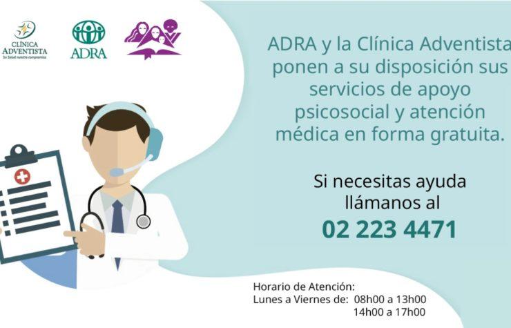 Ecuador inicia campaña gratuita de atención teleasistida