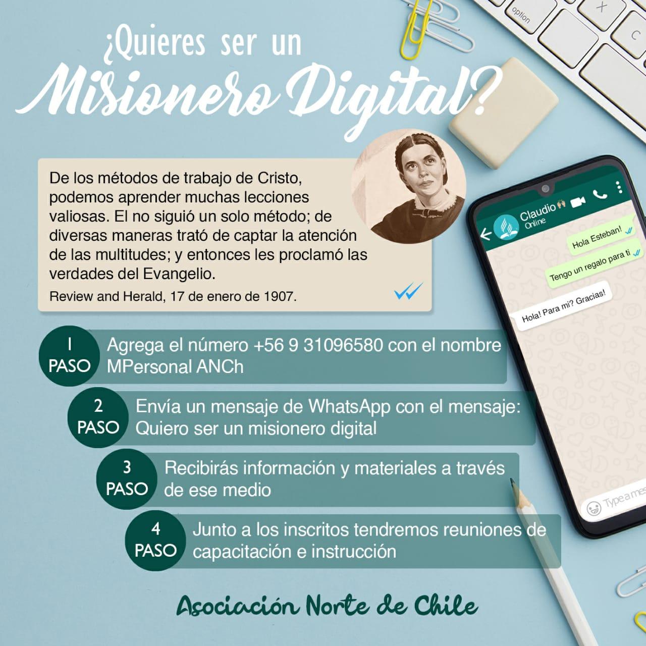 """Invitación """"Misionero Digital"""""""