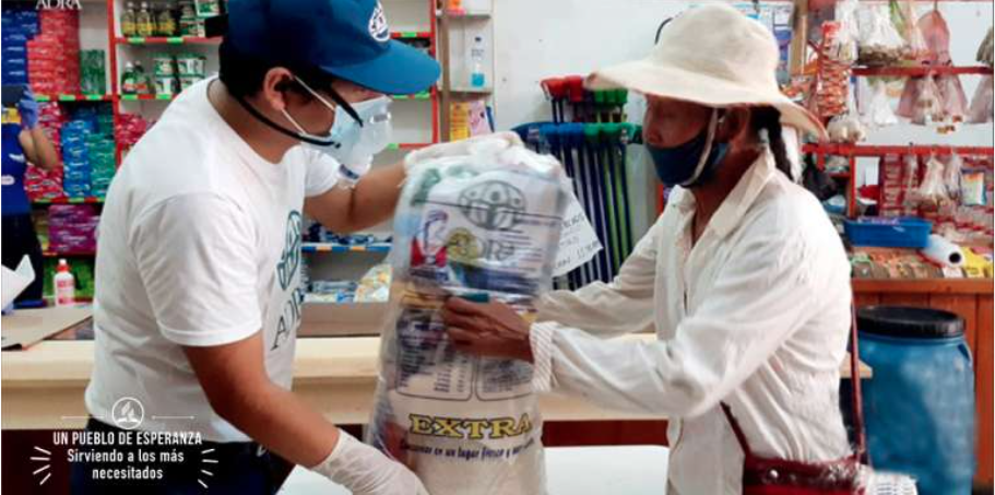 El almacén virtual recogerá las necesidades básicas de Fenómeno del Niño
