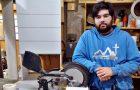 Joven carpintero argentino dirige transmisiones en vivo