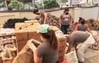Adventistas en Ecuador ayudan a 682 familias con kits de alimentos