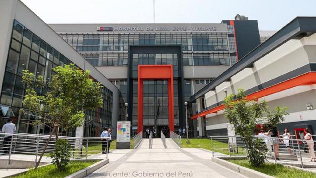 Hospital de Emergencia Ate Vitarte, destinado por el Estado peruano para atender a pacientes más delicados con coronavirus (Foto: Divulgación)