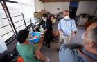 Centenas de personas son alimentadas por agencia adventista