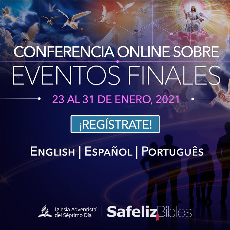 Las inscripciones a la conferencia online Eventos Finales está disponible gratuitamente hasta el 21 de enero, con acceso a los 24 videos. Para obtener más información e inscribirse, ingrese a: www.safelizbibles.com/eventosfinais (Foto: Divulgación)