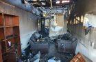 Incendio afectó dependencia de la Universidad Adventista de Chile