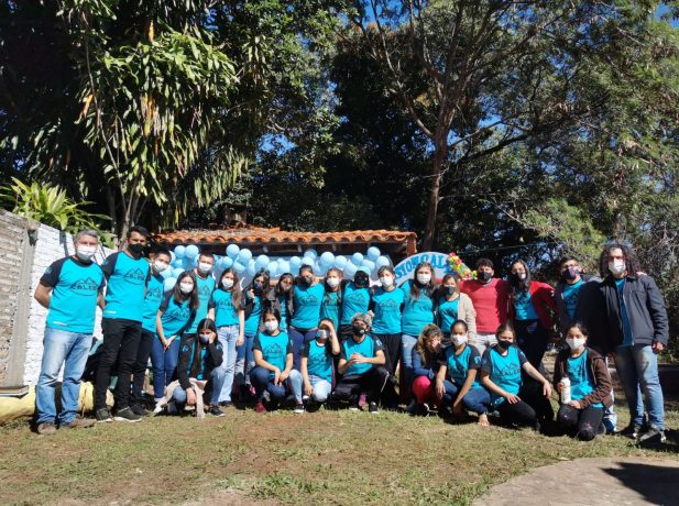 Grupo Caleb impacta a la cuidad de Caacupé con servicios sociales y actividades evangelísticas.