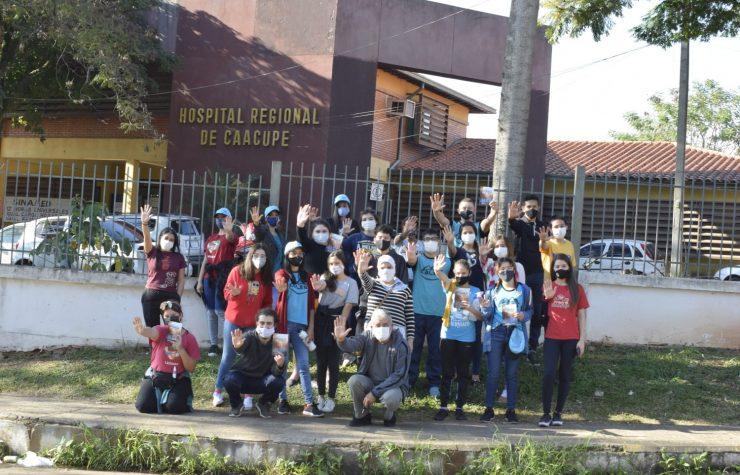 Misión Caleb: 1500 jóvenes dejan su huella en Paraguay