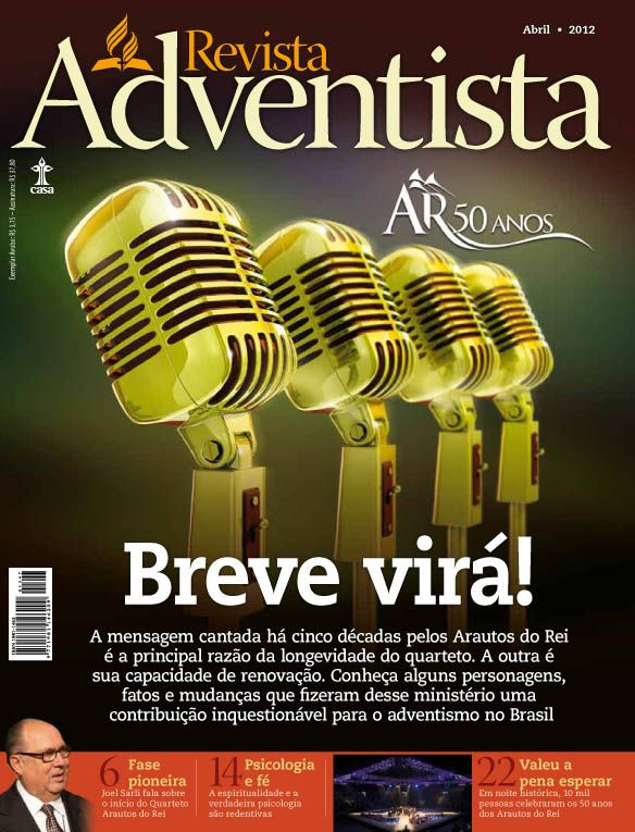 Capa da última edição da Revista Adventista