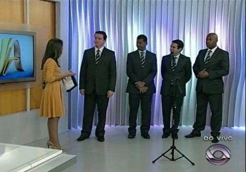 Arautos do Rei participam de Caravana da Esperança no Sul do Brasil.