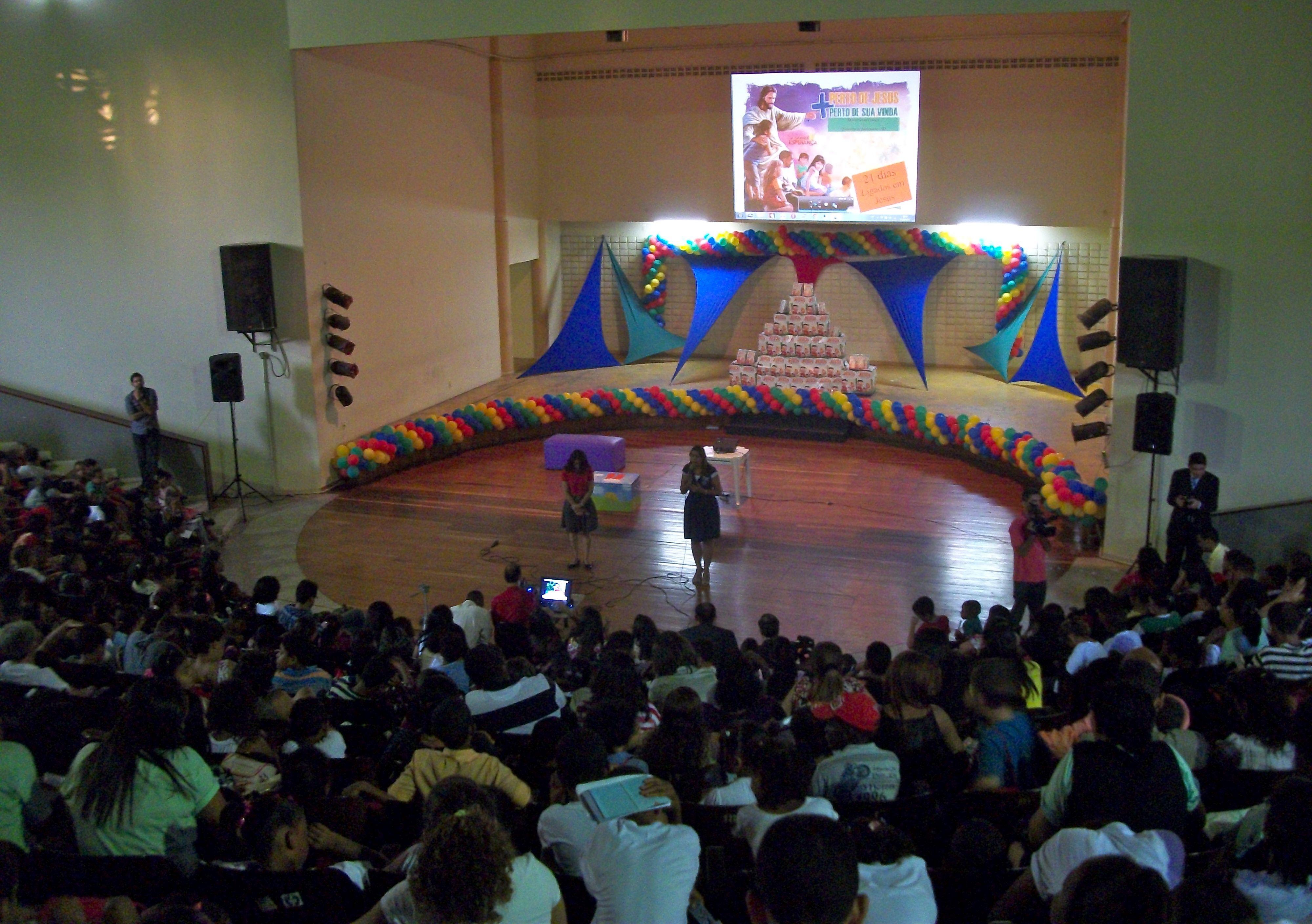 Jornada espiritual motiva crianças a busca diária do Espírito Santo.