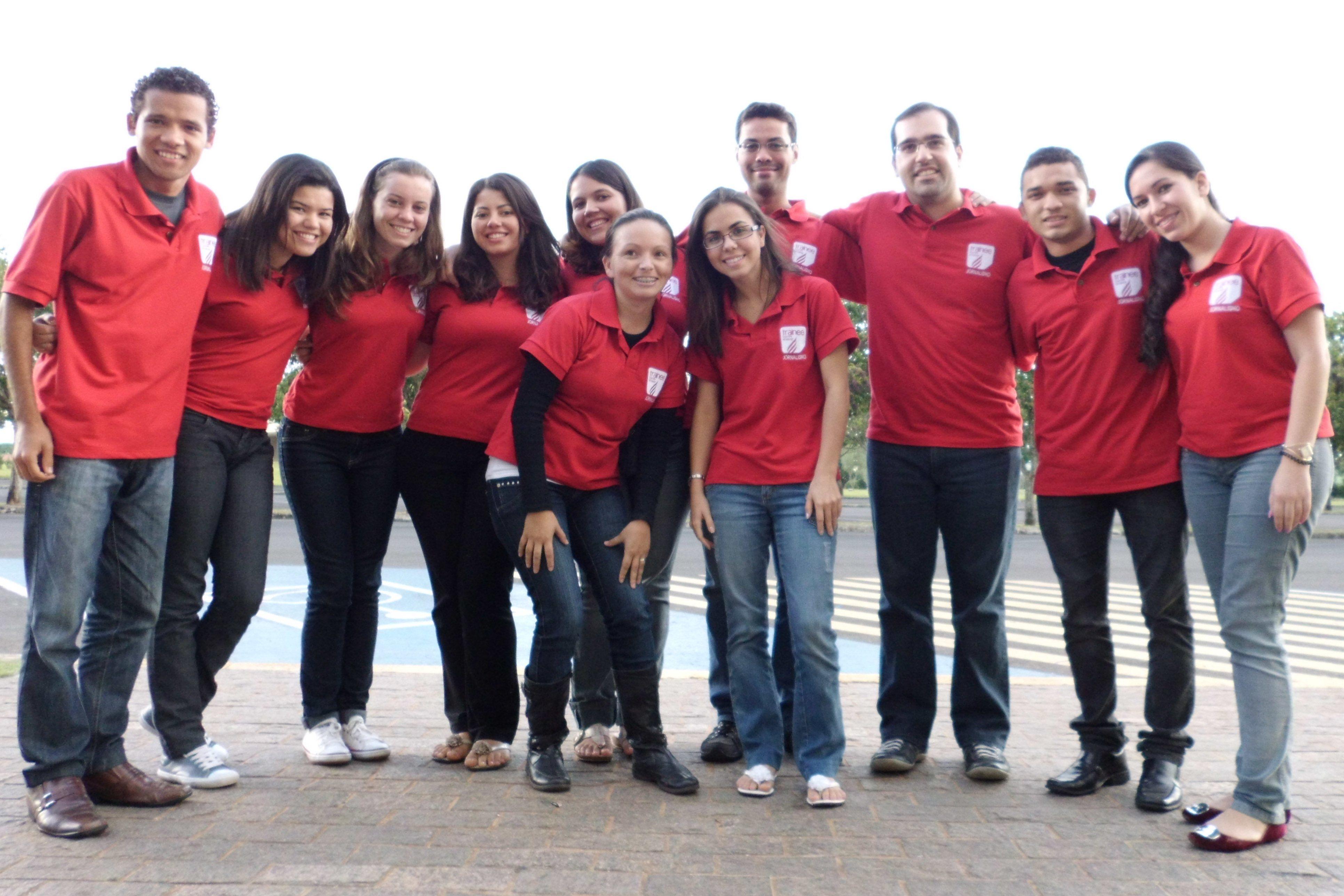 Equipe do trainee em 2012
