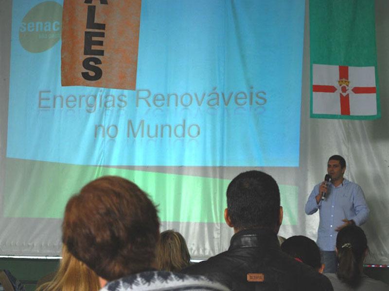 Palestras sobre preservação do meio ambiente no Colégio Adventista de São Caetano.