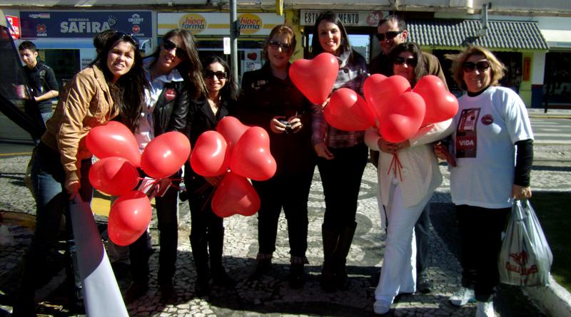 Em União da Vitória, o Vida por Vidas tem parceria com Hemocentro Regional.