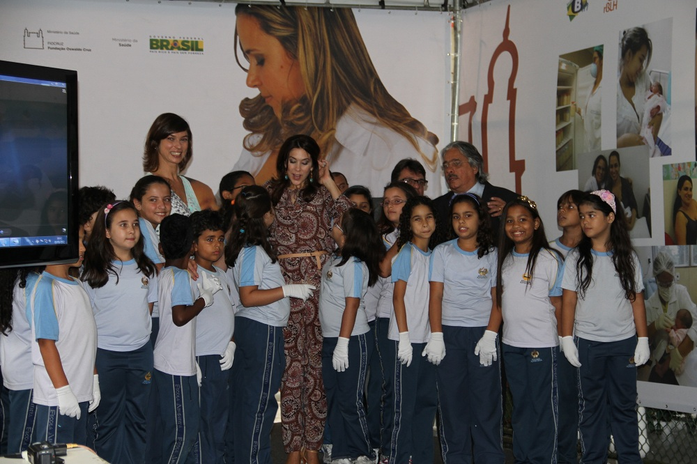 Alunos da Escola Adventista de Botafogo