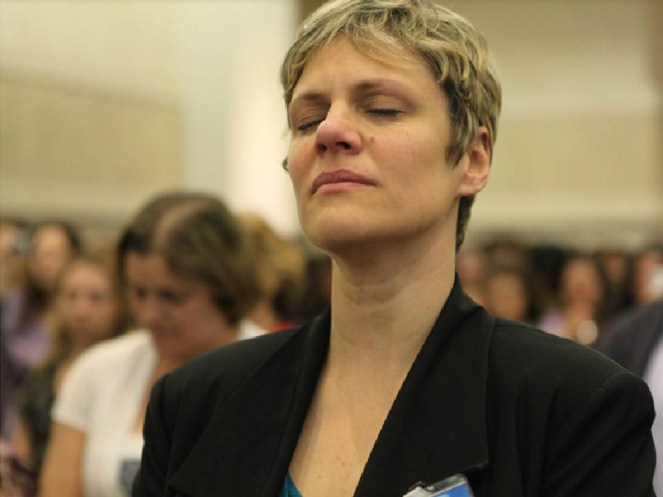 Mulheres da região leste do Rio Grande do Sul tiveram a oportunidade de ter uma experiência espiritual mais intensa durante retiro espiritual.