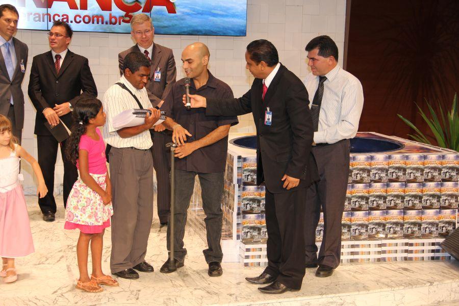 Antônio e Leno junto com pastor Luís Gonçalves