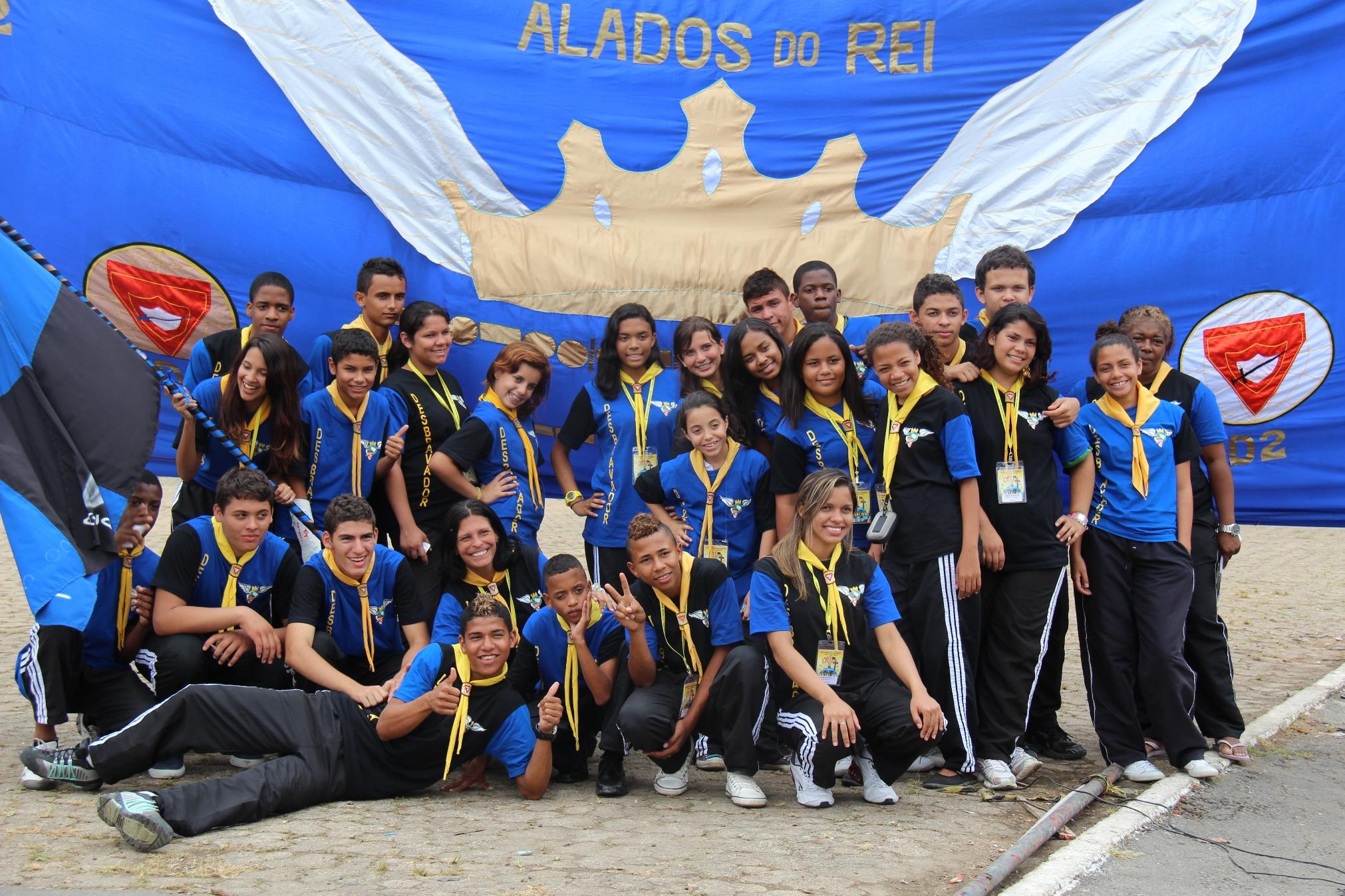 Clube de desbravadores participante do Campori.