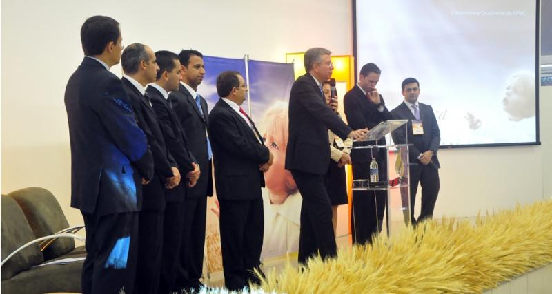Líderes adventistas do DF se comprometem com mais quatro anos