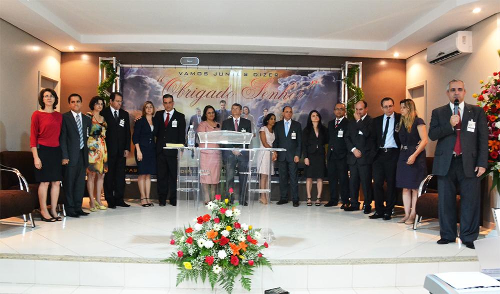 Líderes da igreja na região leste de Minas Gerais.